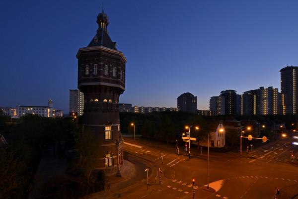 Watertoren avond