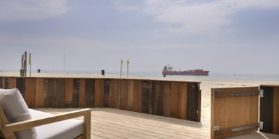 Prive terras Beachrooms