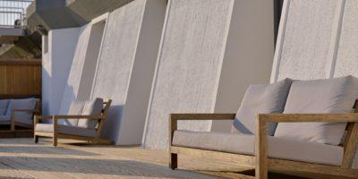 Sfeerfoto terras Beachroom 1 - 3