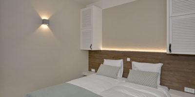 Slaapkamer 4-persoons en Family Beachroom